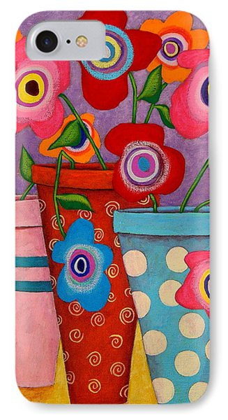 Floral Happiness Phone Case by John Blake
