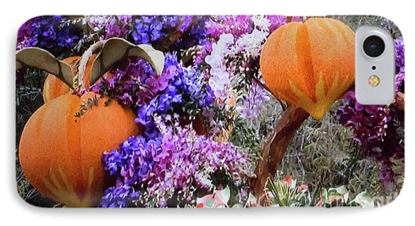 IPhone Case featuring the photograph Floral Peaches by Linda Phelps