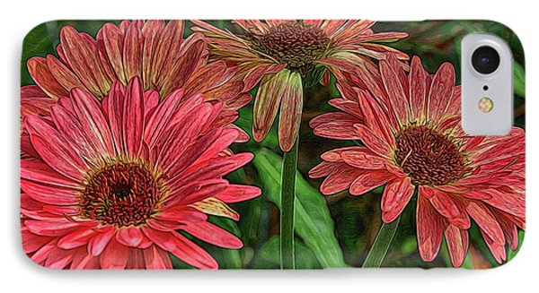 IPhone Case featuring the photograph Floral Pink by Deborah Benoit