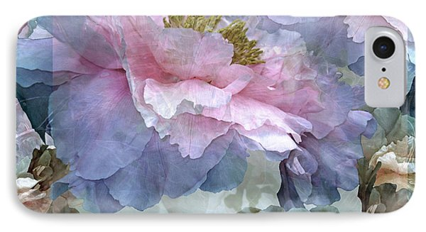 Floral Potpourri With Peonies 24 IPhone Case by Lynda Lehmann