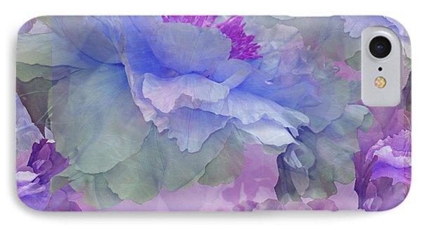 Floral Potpourri With Peonies 4 IPhone Case by Lynda Lehmann