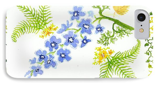Floral Study IPhone Case by Anne Marie Brown