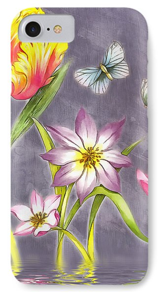 Floral Supreme IPhone Case by Mario Carini