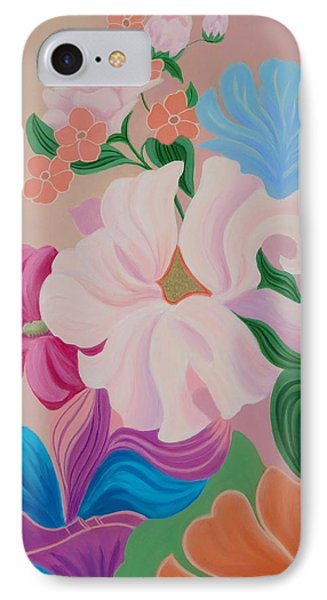 Floral Symphony IPhone Case by Irene Hurdle