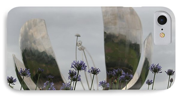 Floralis Generalis IPhone Case by Wilko Van de Kamp