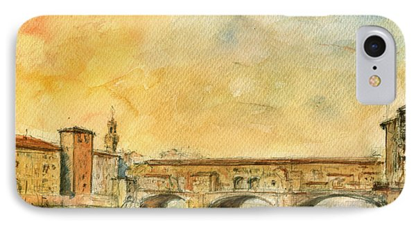 Florence Bridge Ponte Vecchio IPhone Case