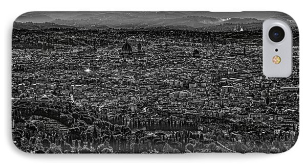 IPhone Case featuring the photograph Florence From Fiesole by Sonny Marcyan