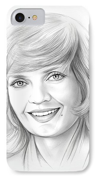 Florence Henderson IPhone Case