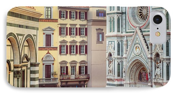 IPhone Case featuring the photograph Florence Italy View by Joan Carroll