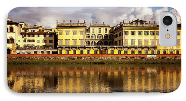 IPhone Case featuring the photograph Florence Reflections by Andrew Soundarajan