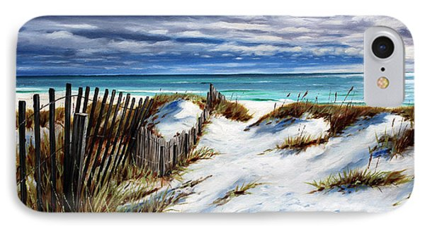 Florida Beach IPhone Case by Rick McKinney