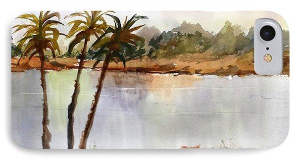 Florida Landscape IPhone Case by Larry Hamilton