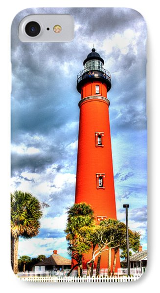 IPhone Case featuring the photograph Florida Lighthouse by William Havle