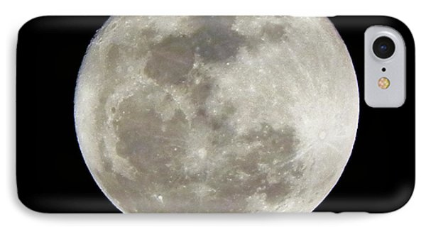 Florida Moon 2-28-2011 Phone Case by Jack Norton