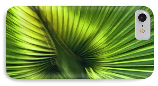 Florida Palm Frond Phone Case by Carolyn Marshall