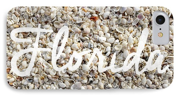 Florida Seashells IPhone Case by Edward Fielding