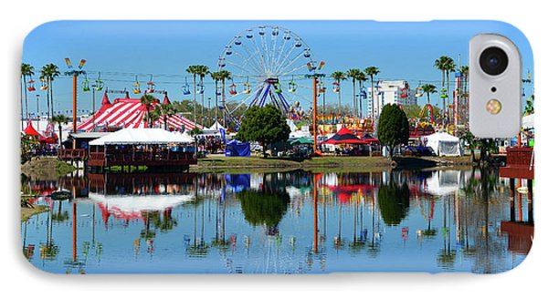 IPhone Case featuring the photograph Florida State Fair 2017 by David Lee Thompson