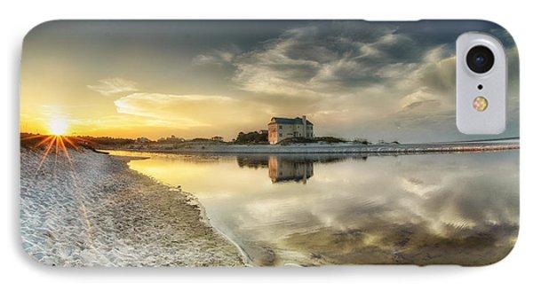 Florida Sunrise - Stillness Phone Case by Cathy Neth
