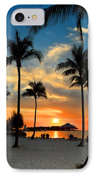 IPhone Case featuring the photograph Florida Keys Sunset by Stephen  Vecchiotti