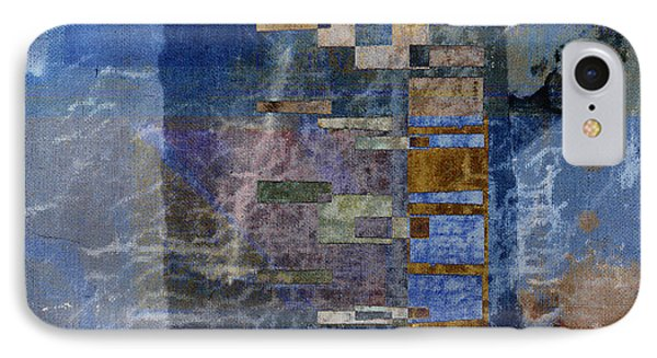 Flotsam Square Format IPhone Case by Carol Leigh