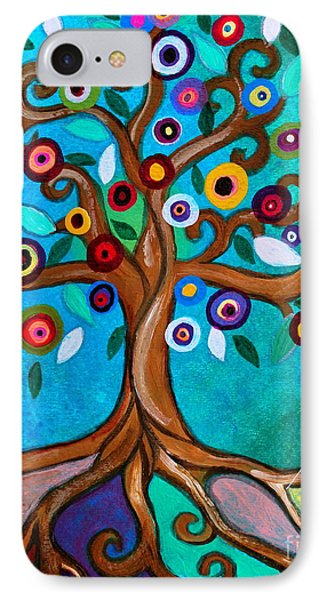 IPhone Case featuring the painting Flourishing Tree by Pristine Cartera Turkus