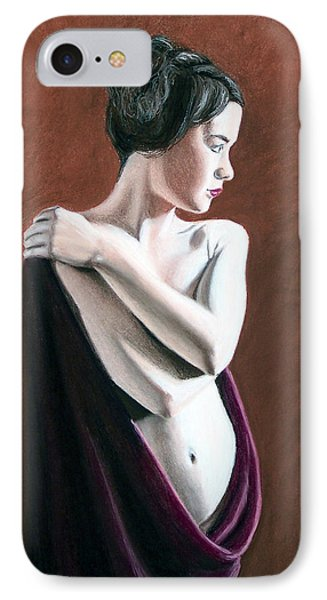 IPhone Case featuring the painting Flow by Joseph Ogle