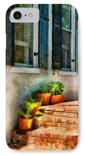 Flower - Plants - The Stoop  Phone Case by Mike Savad