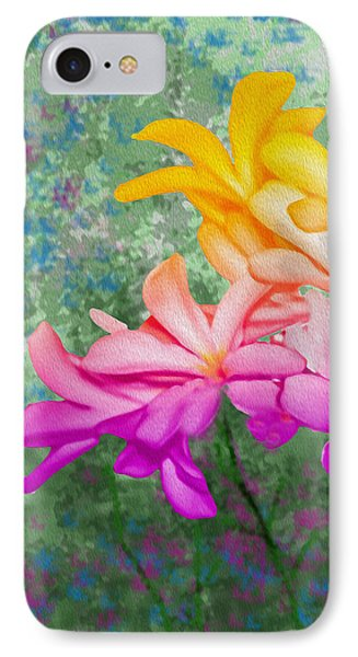 God Made Art In Flowers IPhone Case
