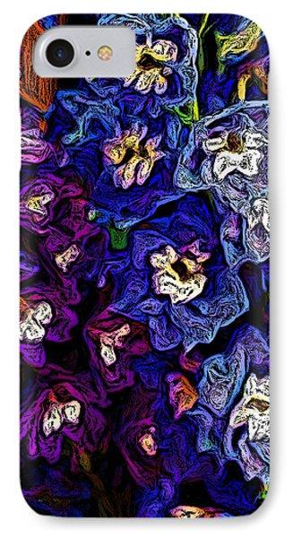 Flower Arrangement II Phone Case by David Lane