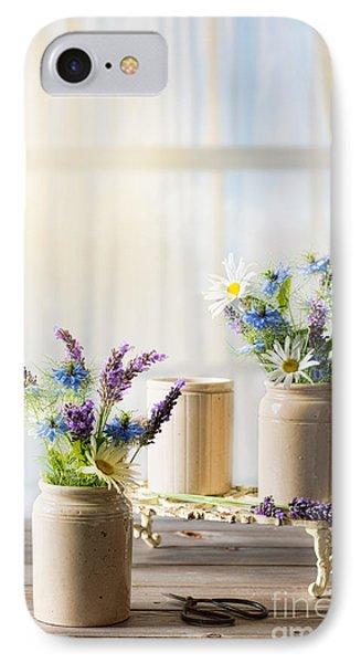 Flower Arrangements IPhone Case by Amanda Elwell