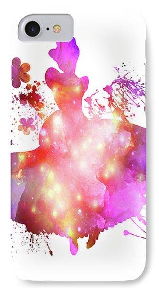 Flower  Cinderella  IPhone Case by Prar Kulasekara