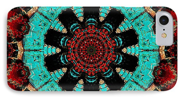Flower Concho IPhone Case by Natalie Holland