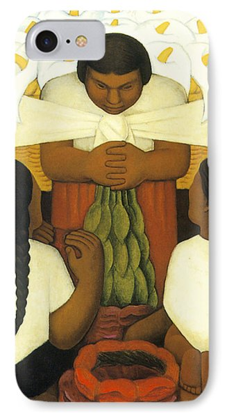 Flower Day IPhone Case by Diego Rivera