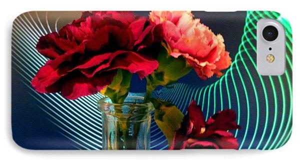 Flower Decor IPhone Case by Mikki Cucuzzo