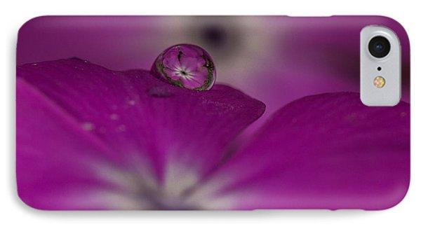 Flower Drop IPhone Case by Elena E Giorgi