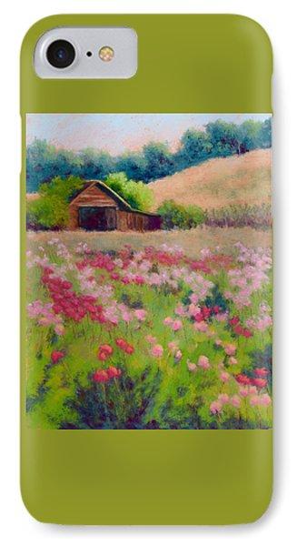 Flower Field IPhone Case by Nancy Jolley