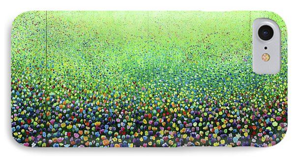 Flower Field Riot Phone Case by Geoff Greene