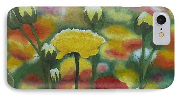 Flower Focus IPhone Case
