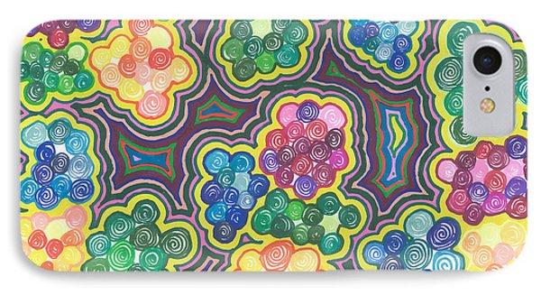 Flower Frenzy IPhone Case by Jill Lenzmeier