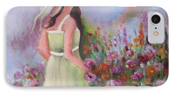 Flower Garden IPhone Case by Vesna Martinjak