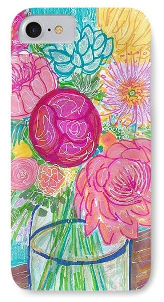 Flower In Vase IPhone Case
