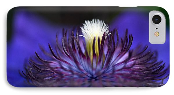 Flower Light IPhone Case by Wanda Brandon