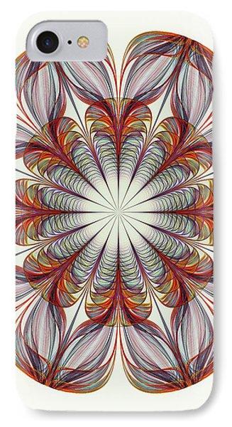 Flower Mandala IPhone Case by Anastasiya Malakhova