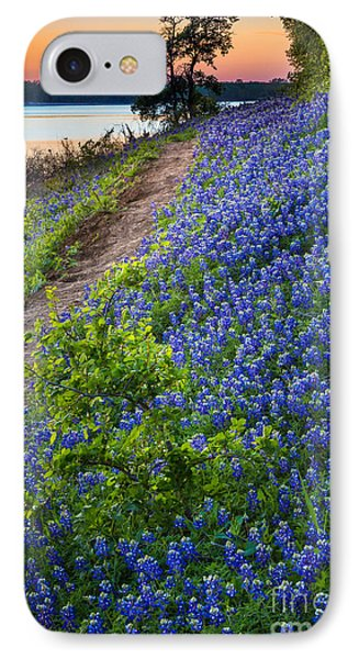 Flower Mound IPhone Case by Inge Johnsson