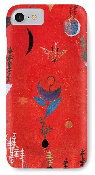 Flower Myth IPhone Case by Paul Klee