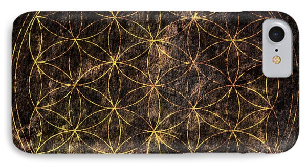 Flower Of Life 2 IPhone Case by Edouard Coleman
