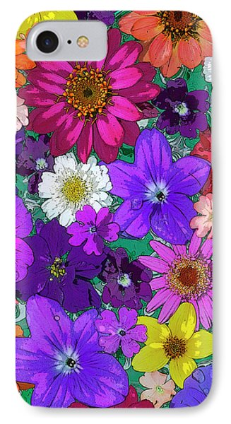 Flower Pond Vertical IPhone Case by JQ Licensing