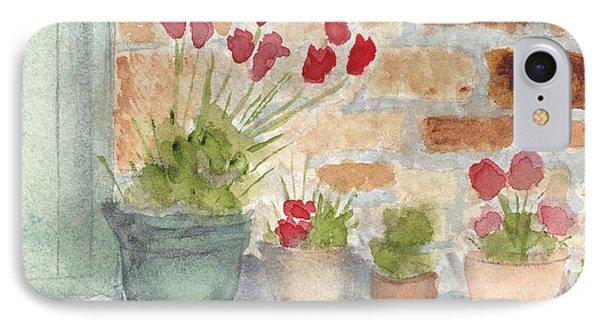 Flower Pots IPhone Case