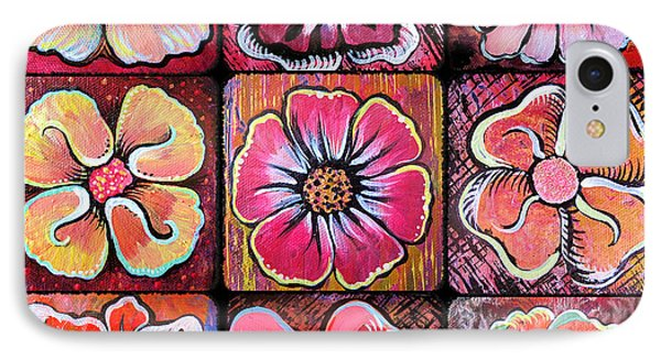 Flower Power Montage IPhone Case by Shadia Derbyshire