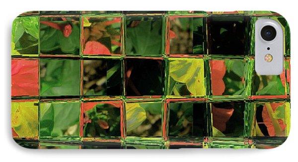 Flower Quilt IPhone Case by Lenore Senior